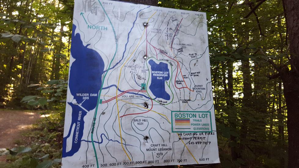 boston lot lake map