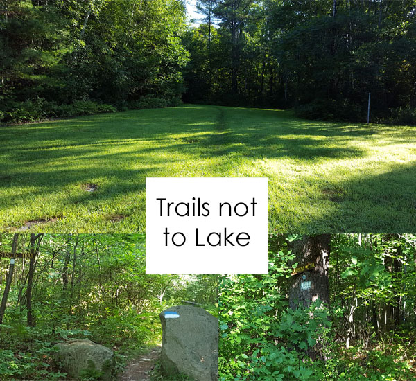 Boston lot lake extension trails