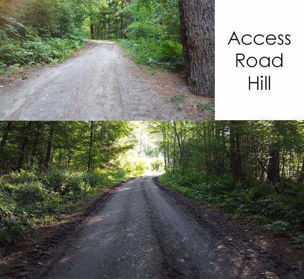 boston lot lake access road