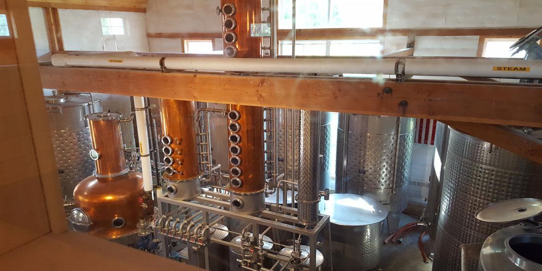 silo distillery process
