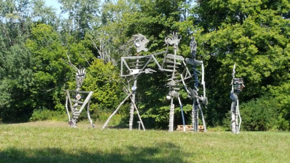 band-sculpture