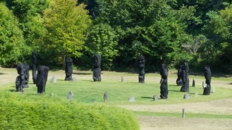 Family Fun in Windsor, VT: Path of Life Sculpture Garden