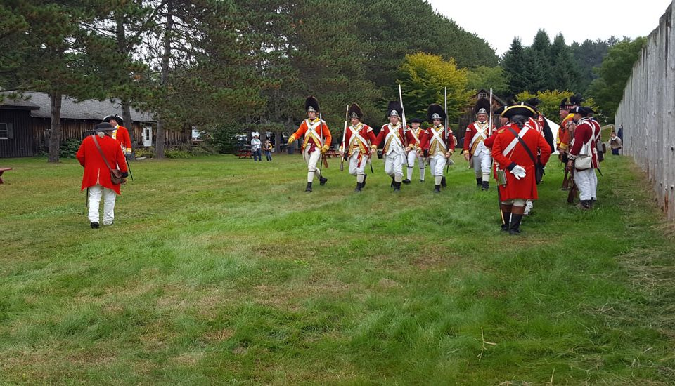 Afternoon Battle Reenactment at Fort #4