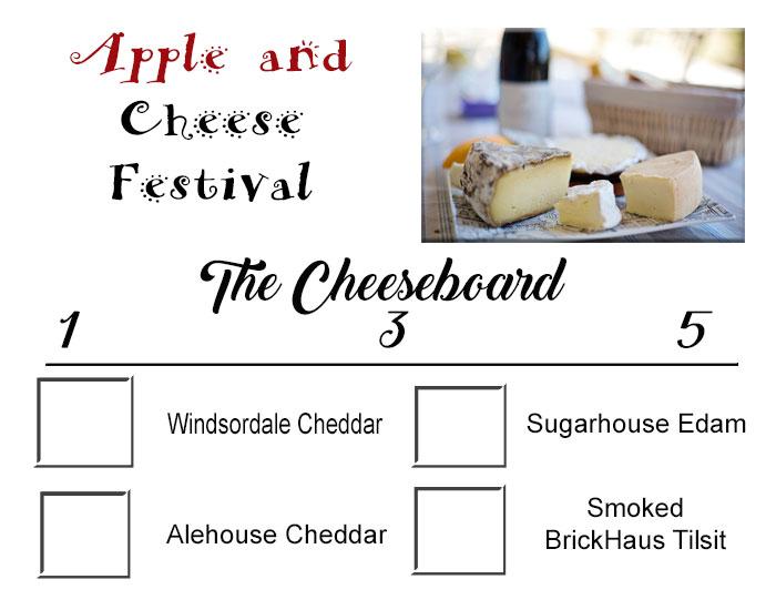 cheese taste testing