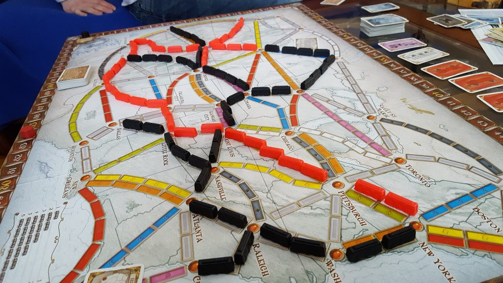 ticket to ride game play