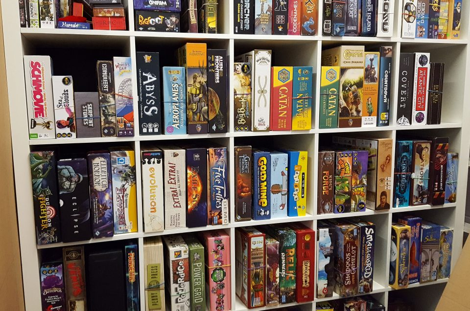 Rent a Board Game at Black Moon Games