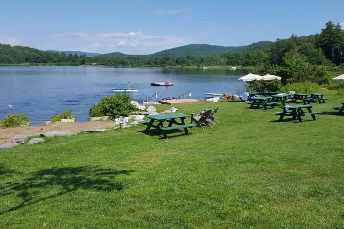Music, Food, and Relaxation: Paradise at Post Pond in Lyme
