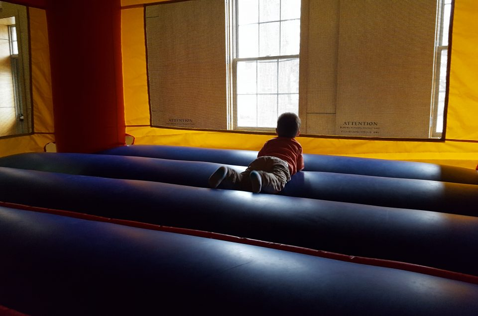 Toddlers Bounce for Joy: Hanover Bounce House