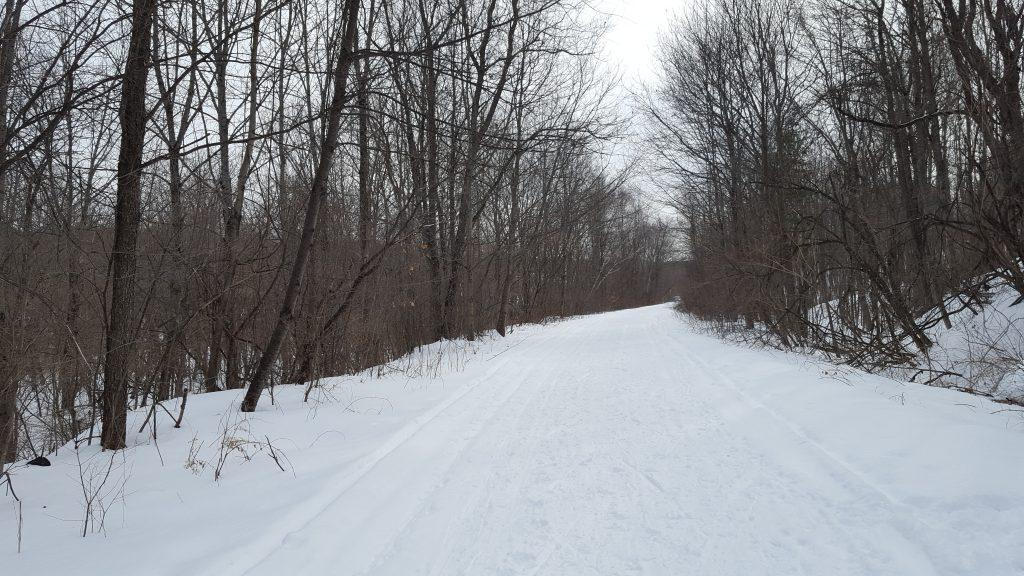 winter biking upper valley
