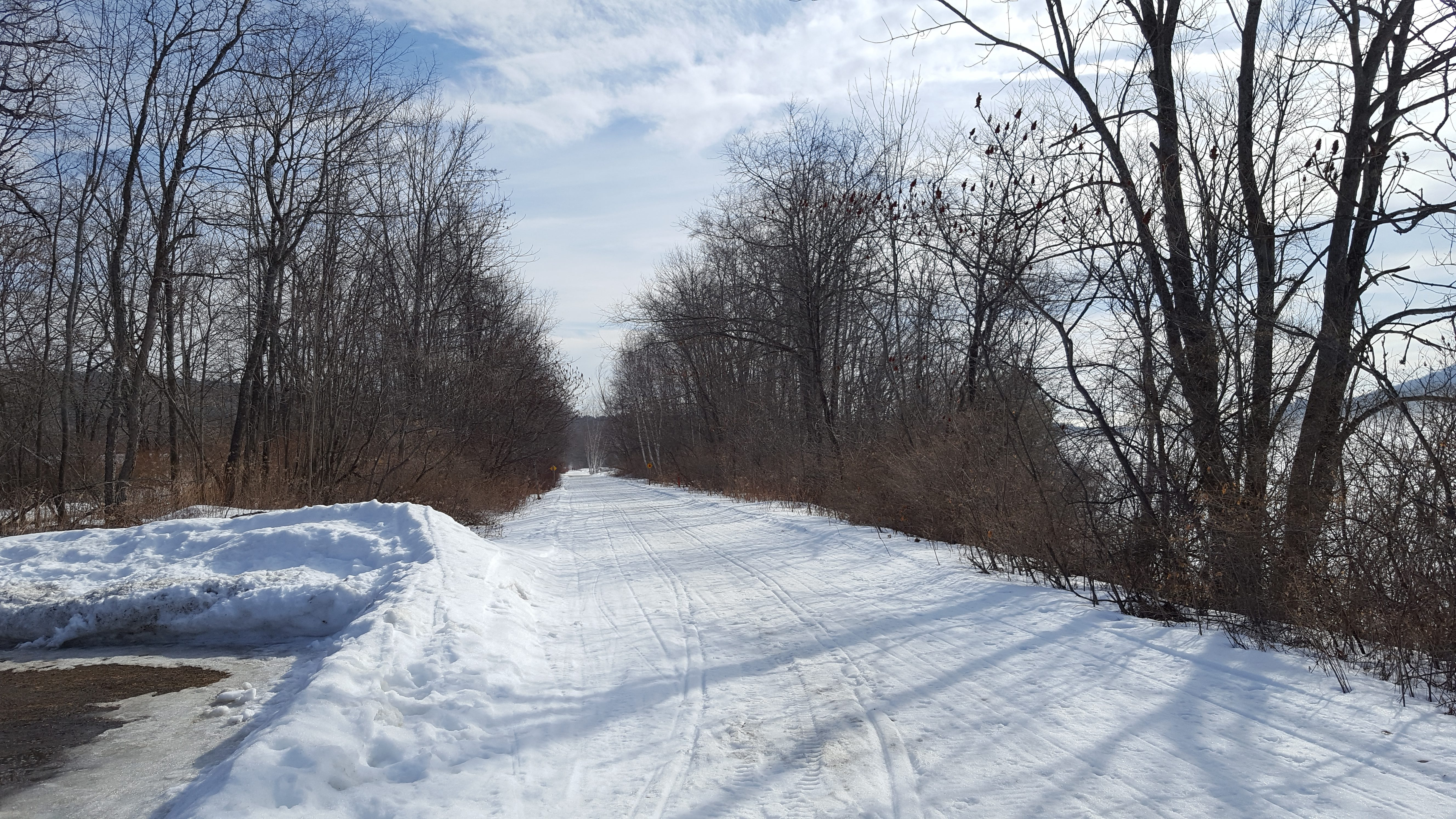 rail trail winter