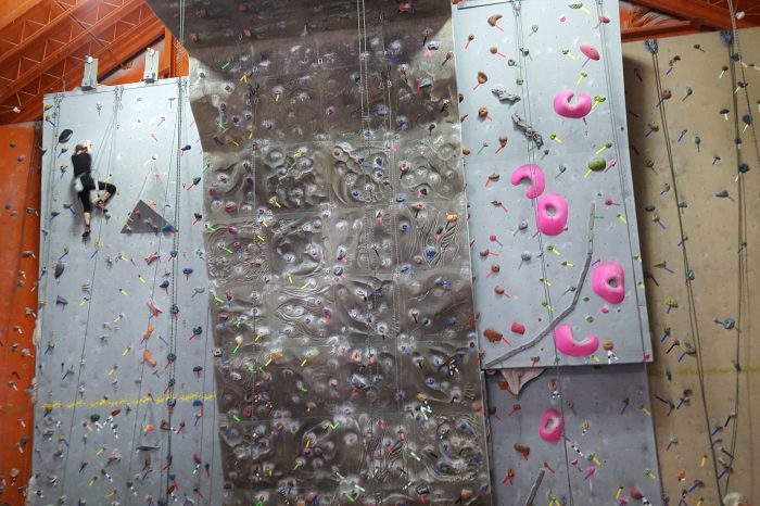 You Can Do It Too: Rock Climb!