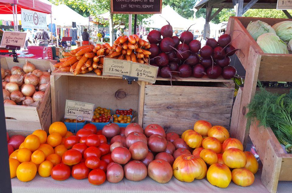 Farmer's Markets in the Upper Valley