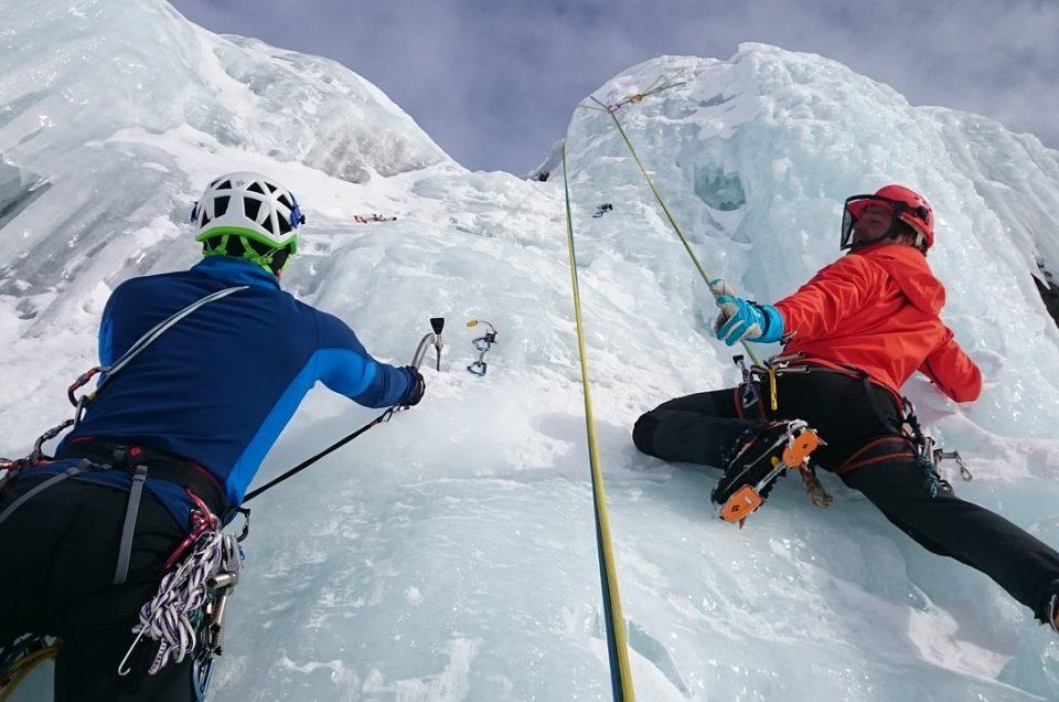 Local Ice Climbing