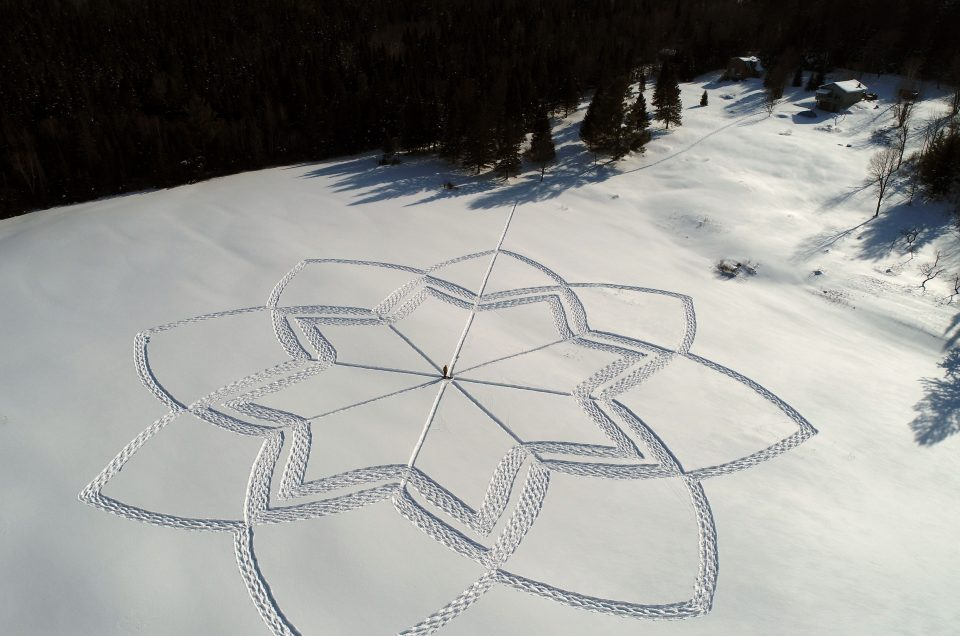 Spectacular Snow Shoe Art from John Predom and How to Try It Yourself